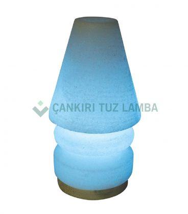 Mavi Abajur Çankırı Tuz Lambası