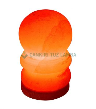Kırmızı Küçük Boy Küre Tuz Lambası
