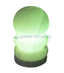 Yeşil Küçük Boy Küre Tuz Lambası