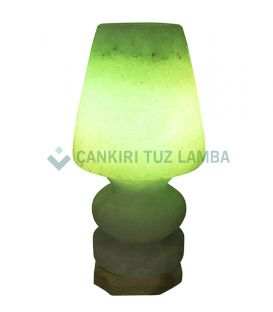 Yeşil Abajur Çankırı Tuz Lamba