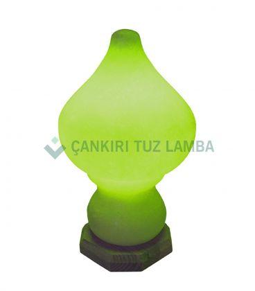 Yeşil Damla Abajur Tuz Lambası