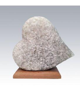 Beyaz Kalp Tuz Lambası