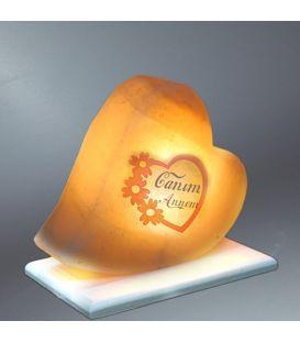Canım Annem Kalp Tuz Lambası