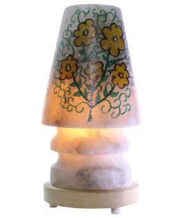 Sarı Mayıs Papatyası Abajur Çankırı Tuz Lambası 4 Kg