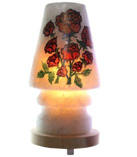 Kırmızı Gül Diyarı Çankırı Tuzu Lambası 4 Kg