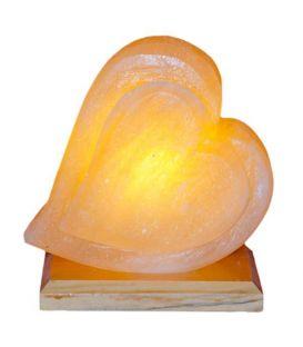 Çift Kalp Tuz Lambası