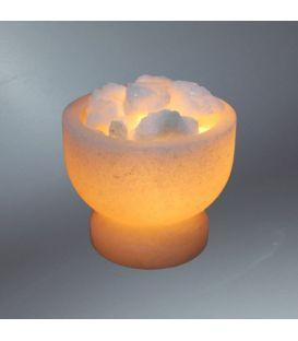 Klasik Tuz Çanağı Kaya Tuzu Lambası