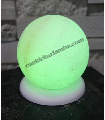 Yeşil Küre Tuz Lambası