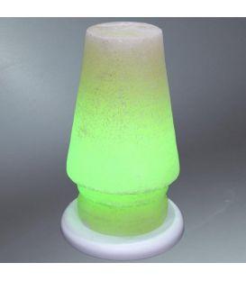 Yeşil Abajur Çankırı Tuz Lambası