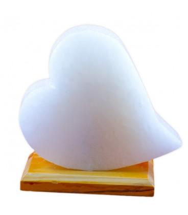 Klasik Kalp Çankırı Tuz Lamba
