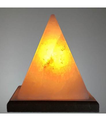 Orta Boy Piramit Çankırı Tuz Lambası