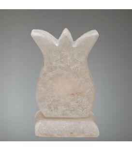 Tuz çanağı şekilli tuz lambası (pembe)