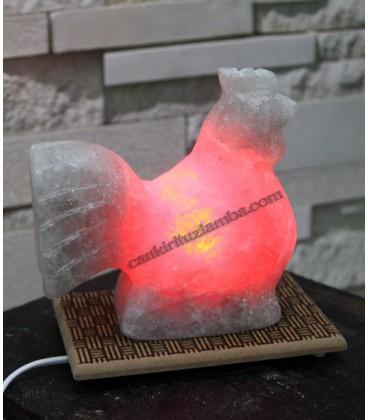 Kırmızı Işıklı Horoz Çankırı Tuz Lamba
