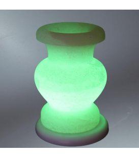 Yeşil Çankırı Vazo Tuz Lambası