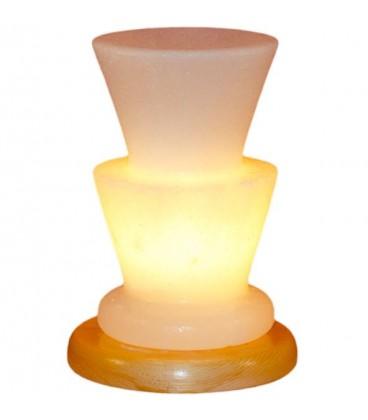 İki Katlı Vazo Çankırı Tuz Lambası