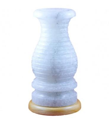 Kıvrımlı Uzun Vazo Tuz Lambası
