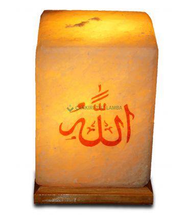 Allah Muhammed Lafızlı Tuz Lambası