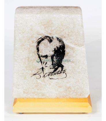Kemal Atatürk Motifli Tuz Lamba