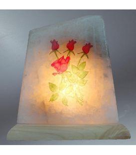 Çift resimli tuz lambası
