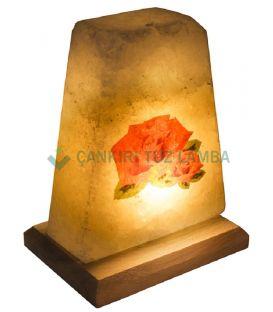 Çiçek Tuz Lambası