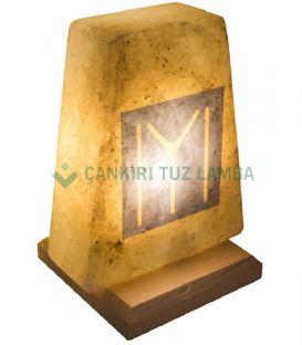 Kaya Boyu Motifli Çankırı Tuz Lamba