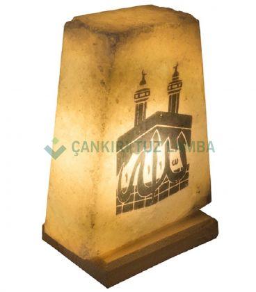 Kabe Desenli Tuz Lambası