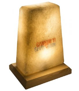 Çankırı'yı Seviyorum Yazılı Tuz Lambası