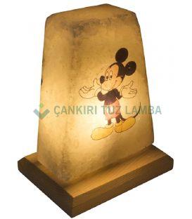 Minnie Mouse İşlemeli Tuz Lamba