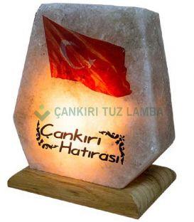 Türk Bayraklı Tuz Lambası