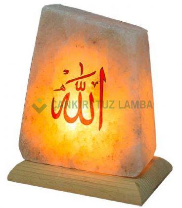 Kırmızı Allah Lafızlı Tuz Lambası