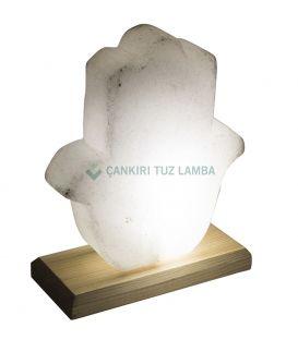 Led Işıklı Tuz Lamba (Fatma Ana Eli)