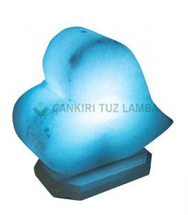 Mavi Kalp Çankırı Tuz Lambası