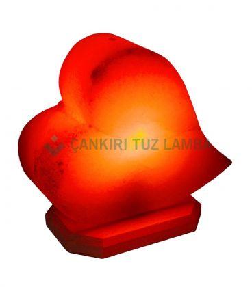 Pembe Kalp Tuz Lambası