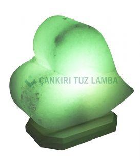 Yeşil Kalp Çankırı Tuz Lambası
