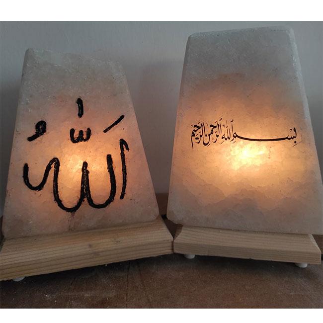babalar günü için dekoratif tuz lambası