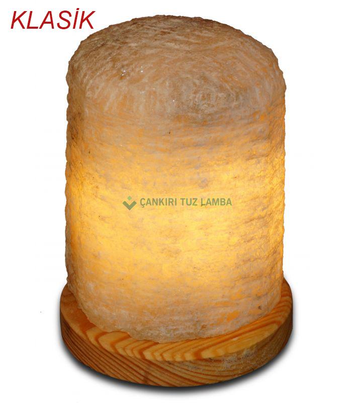 Klasik doğal tuz lambası