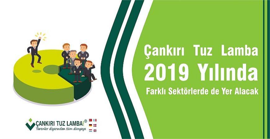 Çankırı Tuz Lamba 2019 Yılında Farklı Sektörlerde de Yer Alacak