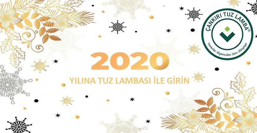2020 Yılına Tuz Lambası ile Girmek