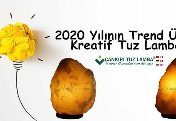 2020 Yılının Trend Ürünü Kreatif Tuz Lambası