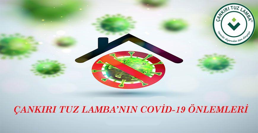 Çankırı Tuz Lamba'nın Covid-19 Önlemleri