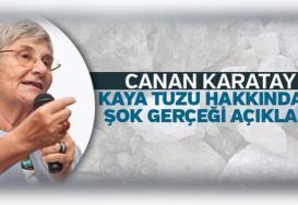 Prof. Dr. Canan Karatay Kaya tuzu ve Tuz Lamba Hakkında Ne Dedi?