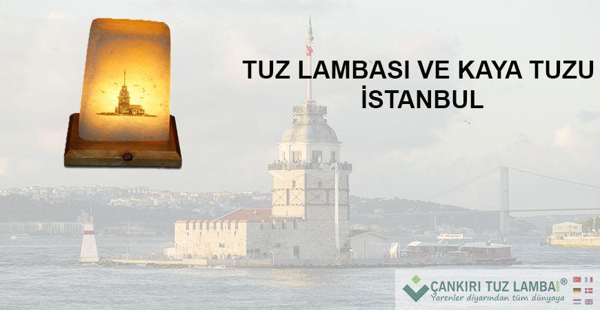 Tuz Lambası ve Kaya Tuzu İstanbul